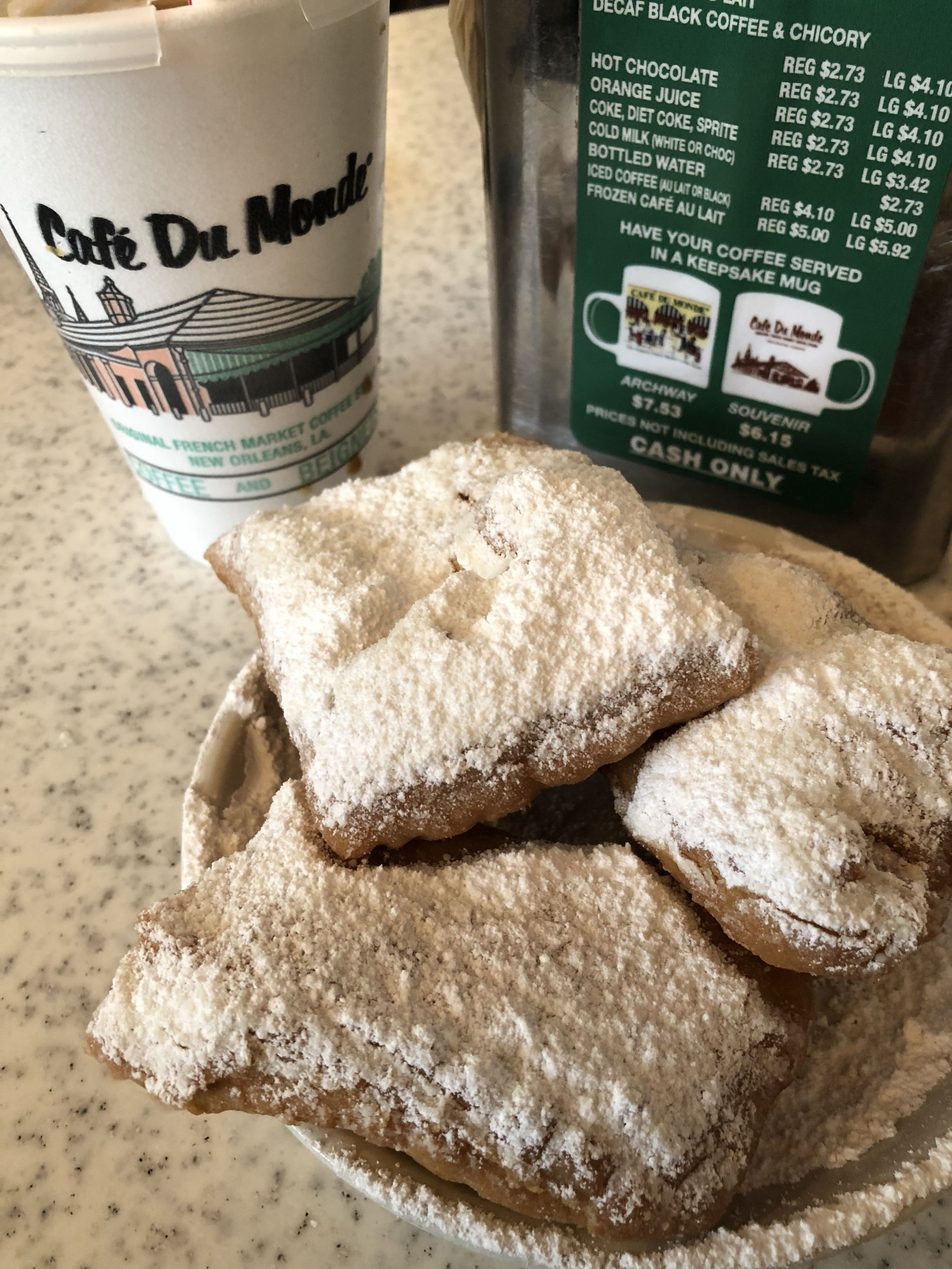 Iconic foods of New Orleans