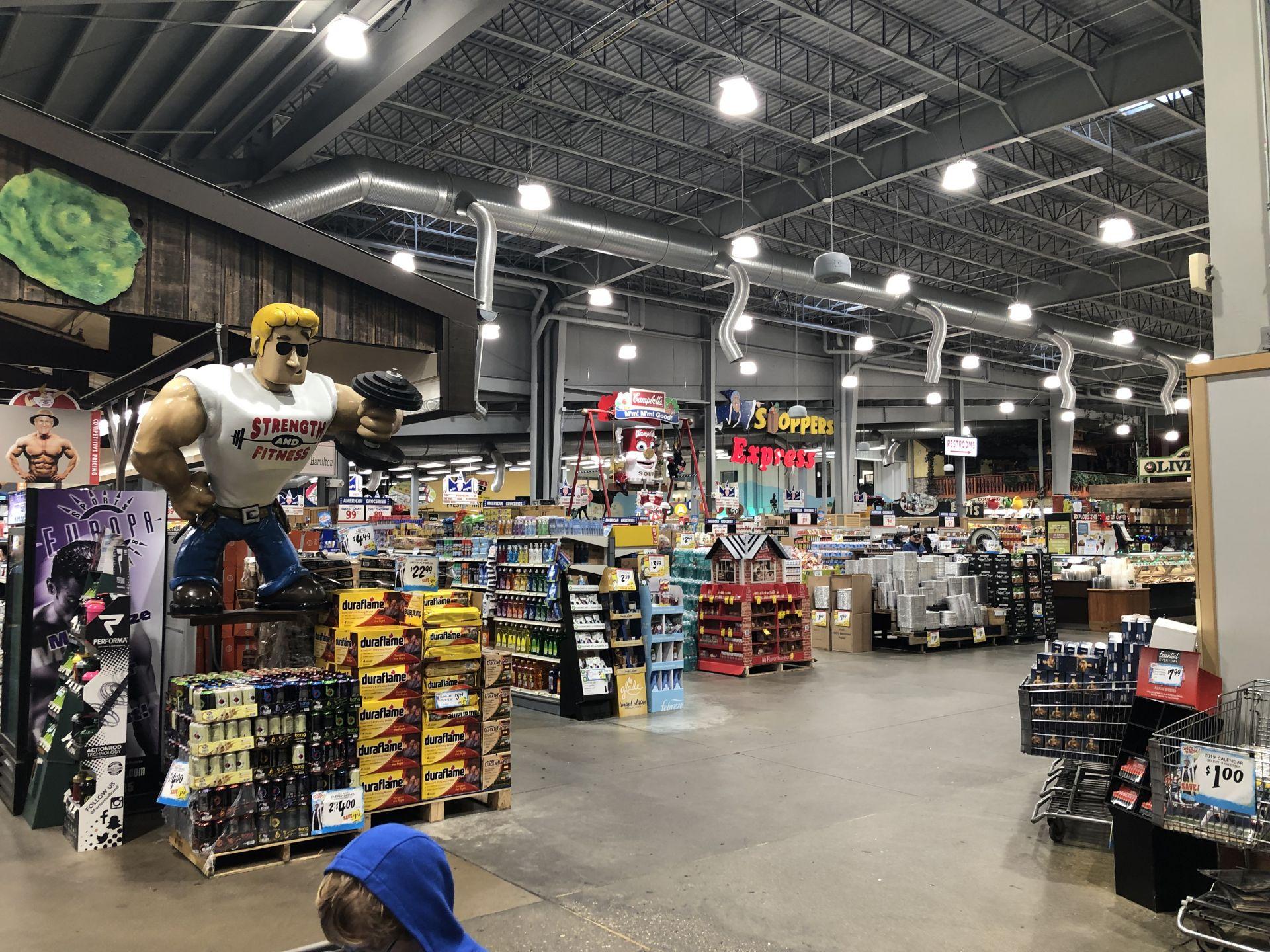 Jungle Jim's a Foodies Dream Store