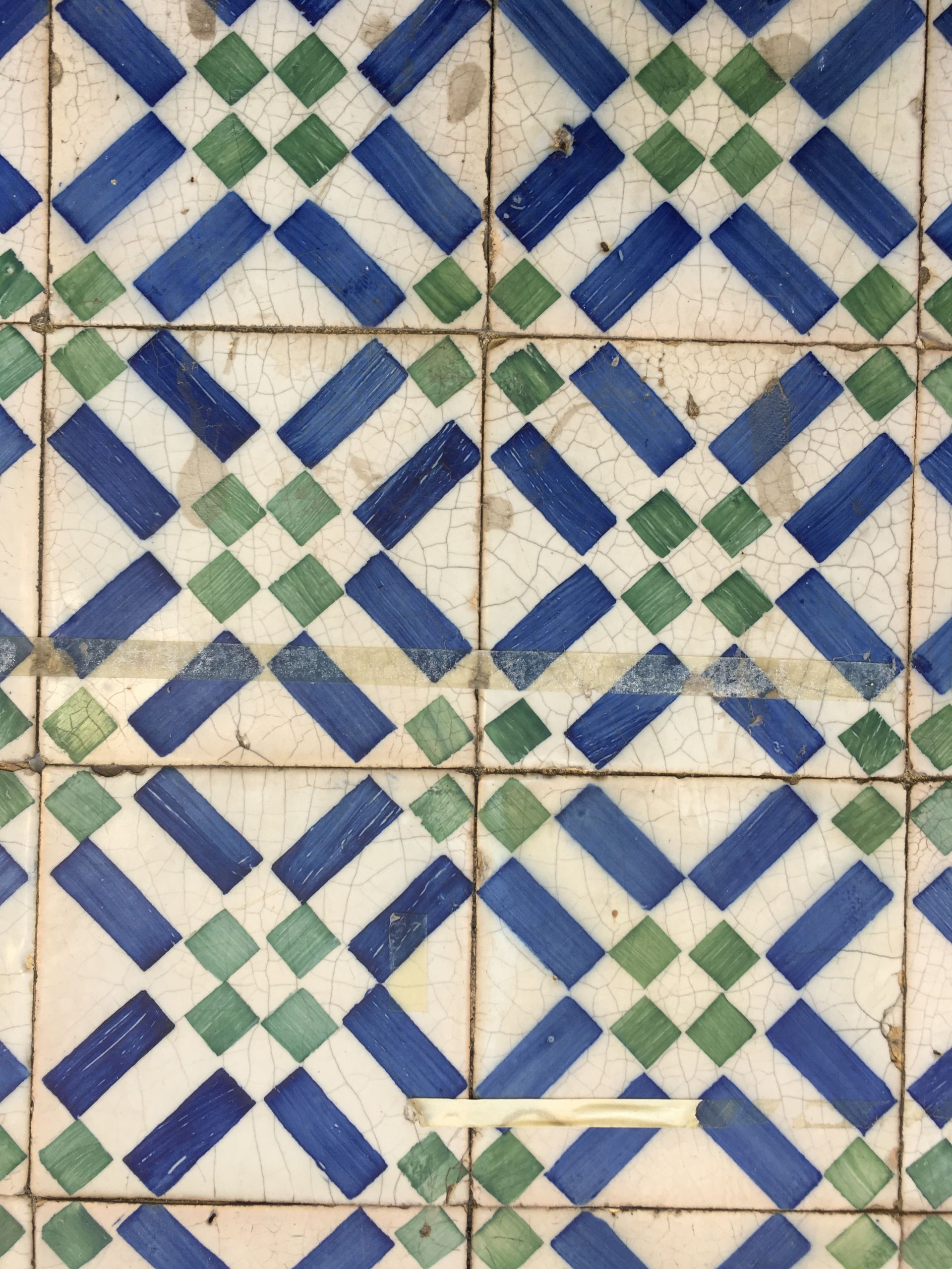 Lisbon-tiles-green and blue