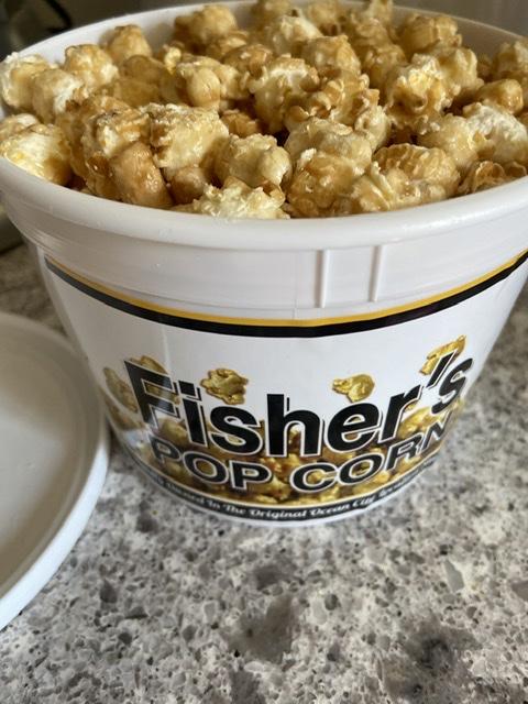 Top beach picks Fisher's Caramel corn. eatbaketravel.com