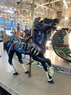 Top beach pick Timpers Rides carousel. Eatbaketravel.com