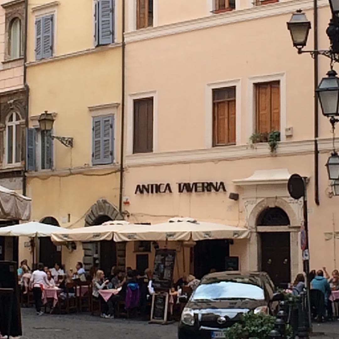 Local restaurant, Rome
