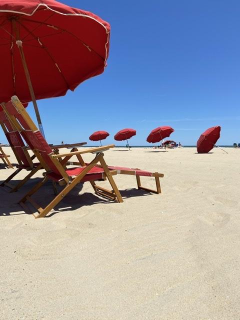 The beach at Ocean City, MD   Eatbaketravel.com